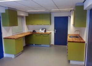 Secretariaat Bontenbal Nof huisarts praktijk inrichting interieur vens amsterdam peter hamers meubel interieur design