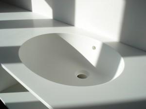corian spoelbak wasbak badkamer meubel hamers interieur design